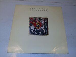 PAUL SIMON - Graceland - 1986 UK 11-track vinyl LP..