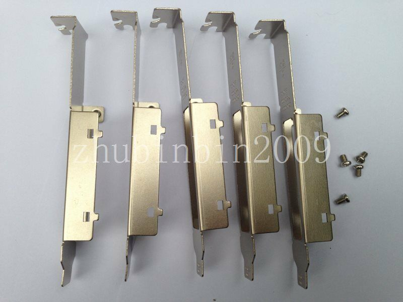 Lots of 5 pcs Full Height Bracket for Intel EXPI9404PTL HP NC364Tnetwork adapter