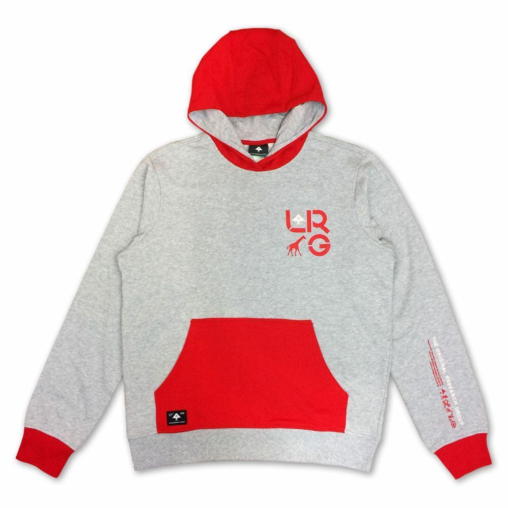Lrg RC Two Pullover Hoodie Rot