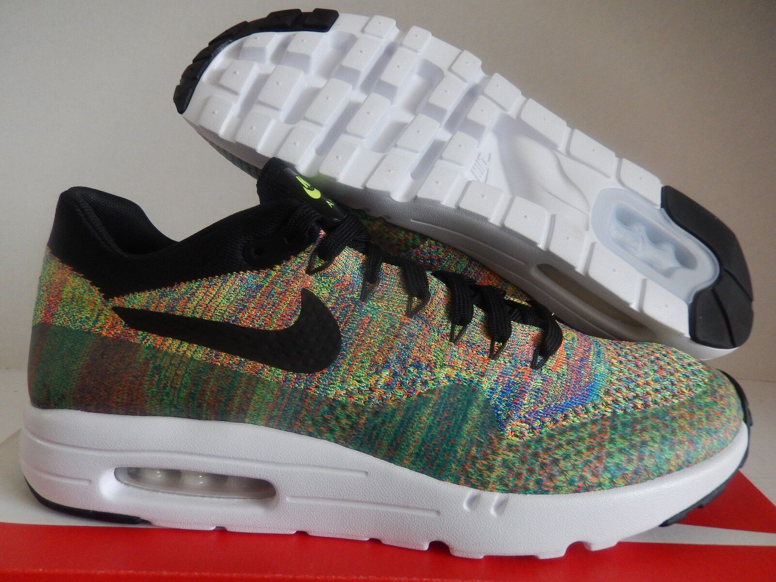 NIKE AIR MAX 1 FLYKNIT ID  AIR MAX DAY 3-26  SZ 11.5  MULTI COLOR  [940379-991]