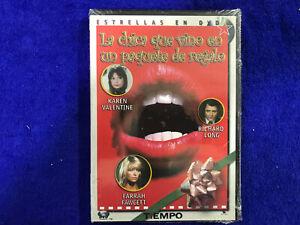 DVD La Bambina Che Vino IN un Pacco De Regalo The Girl Who Came Gift-Wrapped New