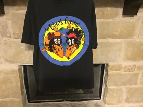 Vintage Black Crowes 1992 High As The Moon T Shirt