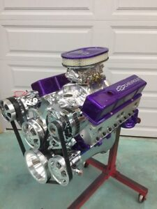 Details about 383 EFI STROKER CRATE MOTOR EFI included 503hp A/C ROLLER  chevy TURN KEY engine