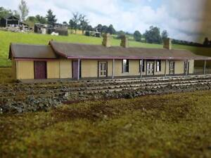 Ho scale building NSWGR Culcairn Station