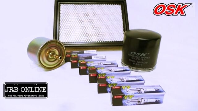 MAZDA TRIBUTE YU08 3.0L V6 OIL FUEL AIR FILTER D/PLATINUM SPARK PLUGS KIT 01-04