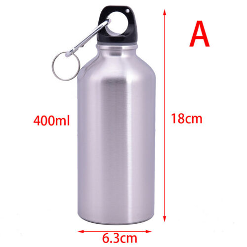 Cycling Sports Stainless Steel Gym Water Bottle Single Wall Vacuum Insulated HA