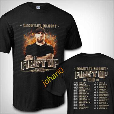 Brantley Gilbert Tour Dates 2019 T SHIRT S-3XL MENS