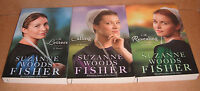 The Inn At Eagle Hill Vol. 1,2,3 By Suzanne Woods Fisher Paperback