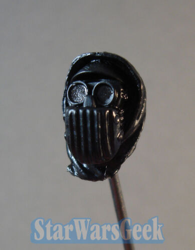 """MH035 Custom Cast male head for use with 3.75/"""" 1:18 Star Wars action figure"""