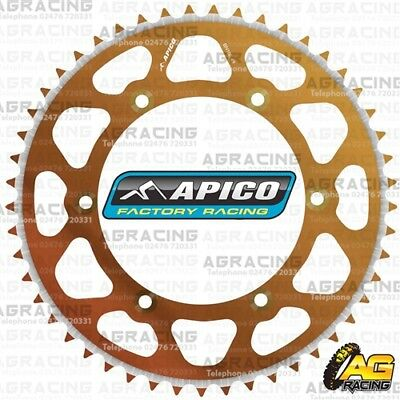 2019 Nieuwste Ontwerp Apico Evolite Bronze Rear Sprocket 53t 420 For Honda Cr 80rb 1986 Motocross