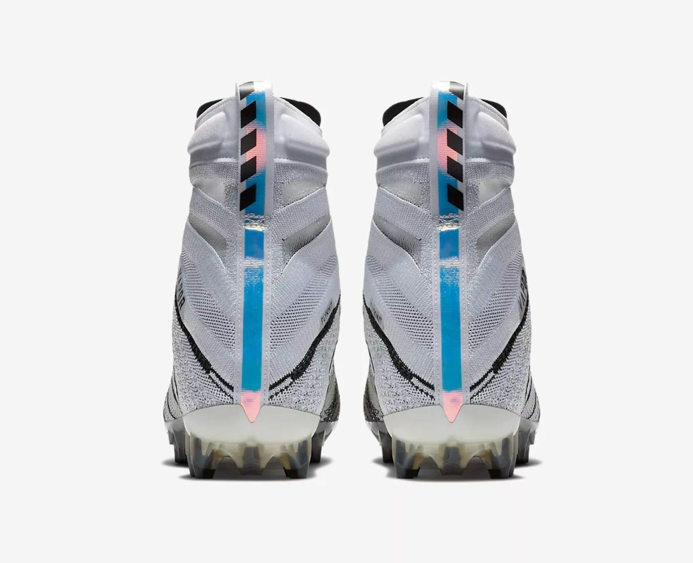 Mens Nike Flyknit Max ID Black blue Sz 10.5 845615 993 for