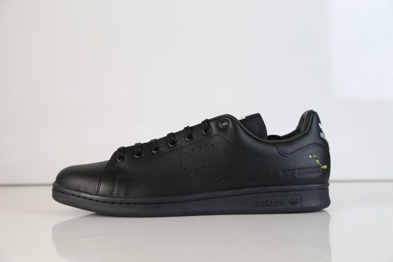 Adidas RS Raf Simons Stan Smith Core Black Black Black F34257 8-12.5 ss b7e21e
