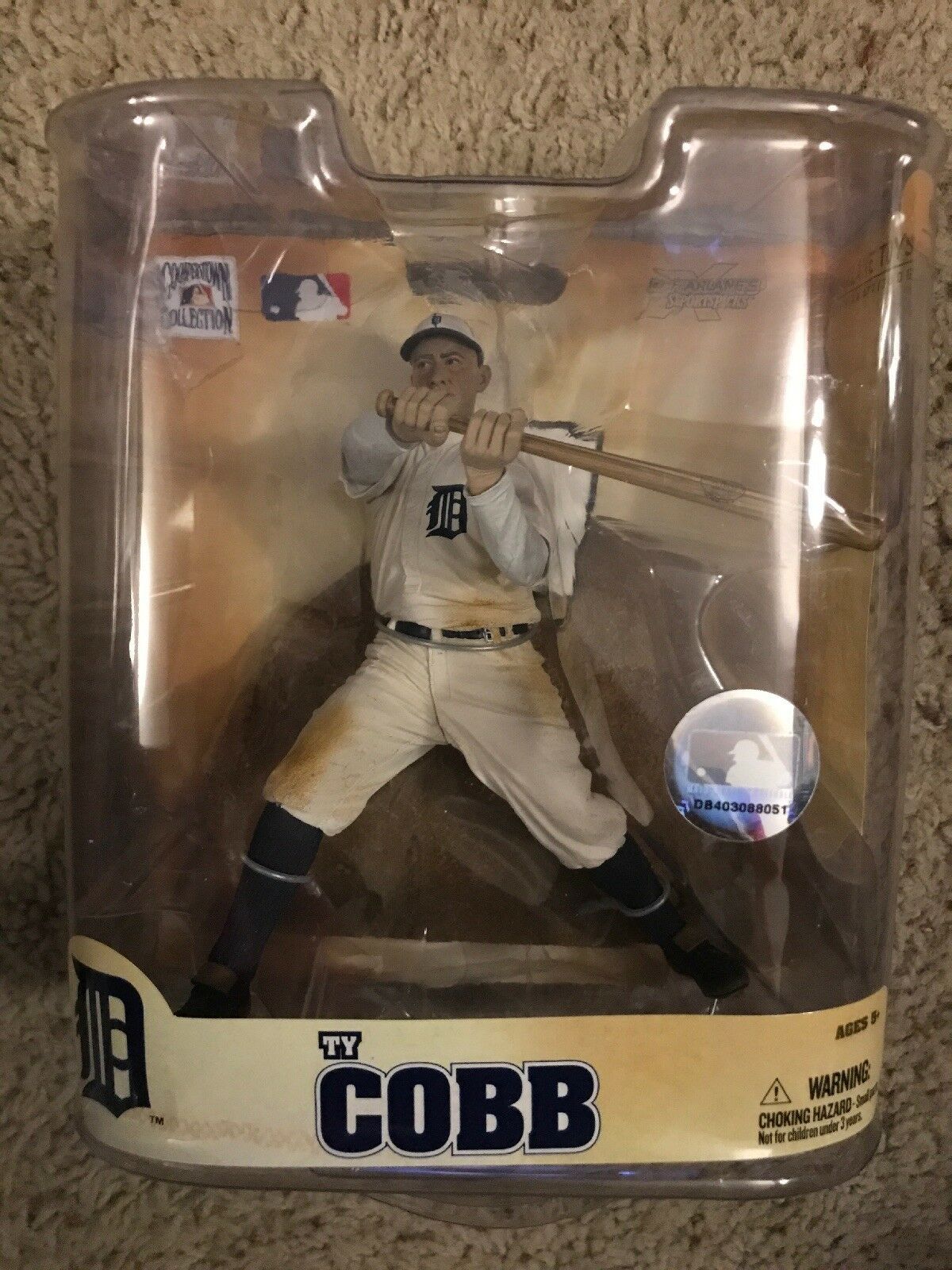 McFarlane Toys MLB Baseball Cooperstown Series 5 Ty Cobb VARIANT Action Figure