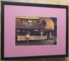 Edward Hopper print - Sheridan Theatre -20''x16'' frame, art deco wall art