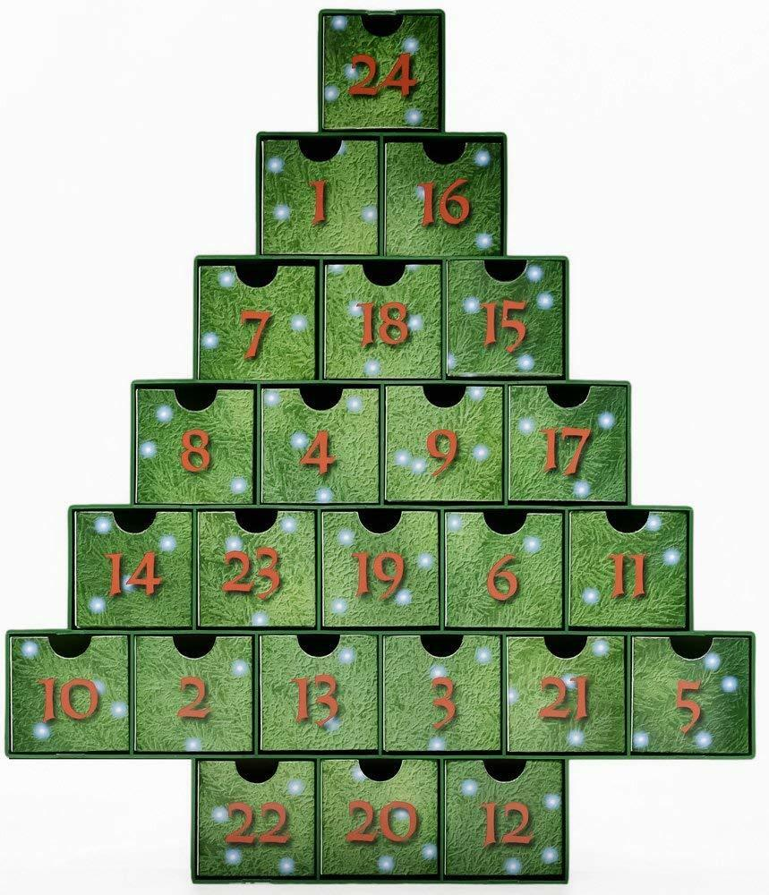 Christmas Yule Holiday Advent Countdown Calendar 25 DIFFERENT Scented Tea Lights