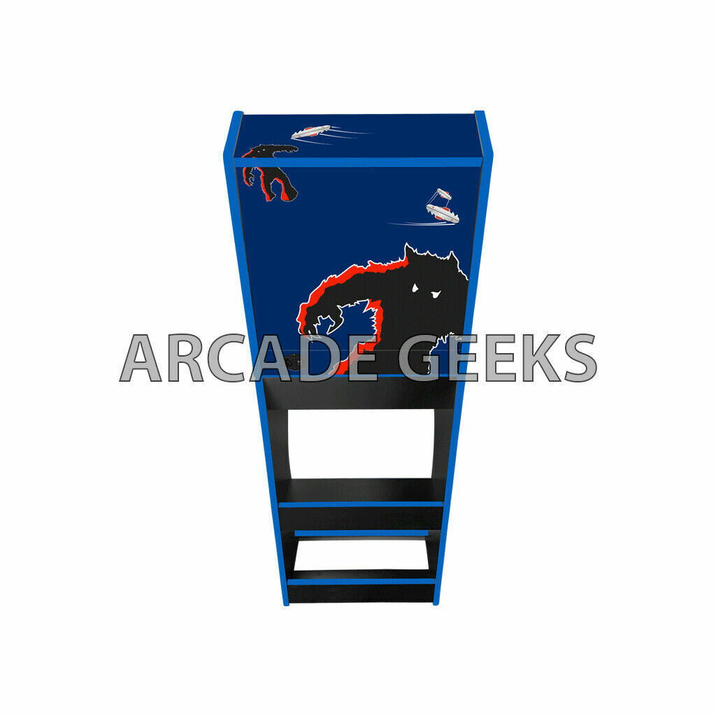 Arcade Machine 2 Player - Space Invaders Theme - Over 7000 Games + Coin Operated