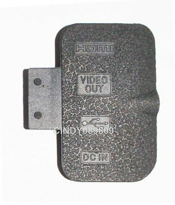 New Terminal HDMI USB DC IN Rubber Cover Lid Cap Part for Nikon D700 Camera