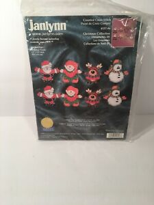 Janlynn-Christmas-Collection-Ornaments-Counted-Cross-Stitch-Kit-157-96-Santa-Elf