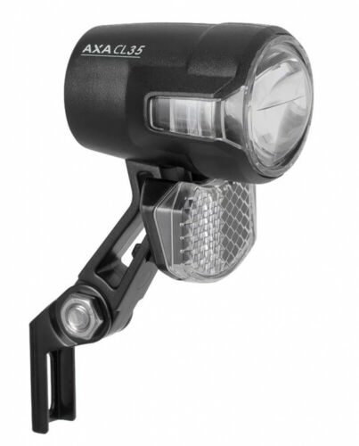 AXA Vélo Phares Compactline 35 E-Bike 6-12 V DC sans interrupteur