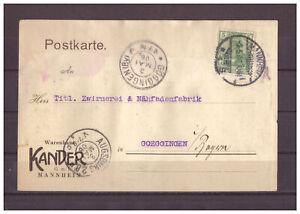 Empire-Allemand-Firmenkarte-Minr-85-Mannheim-apres-Goggingen-02-05-1908