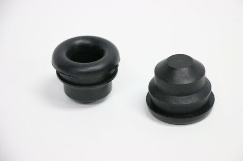 """Breather 3//4/"""" Grommets Plug For Steel Valve Covers SBC 350 454 Rubber PCV 2"""