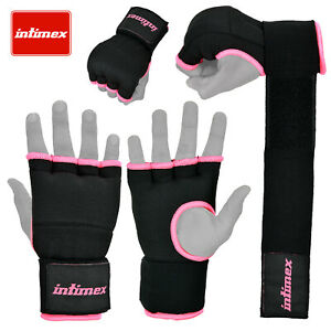 GEL-interno-intimex-Guanti-Borsa-Pugno-Hand-Wraps-Boxe-Imbottita-Guanti-UFC-MMA-KICK