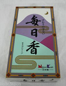 NIPPON-KODO-Incenso-Giapponese-MAINICHIKO-Schiuma-320-bastoncini