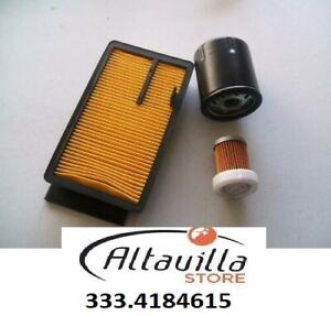 Aixam-City-Set-Filtre-a-Air-Gasoil-Huile-de-Moteur-Z402-Z482-Kubota-Filtres