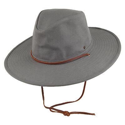 Brixton Ranger II Hat Men's Wide Brim in Grey Size Large
