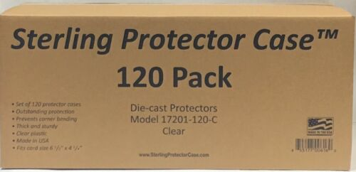Sterling Protector Case Mainline 120 Pack for Hot Wheels /& Matchbox