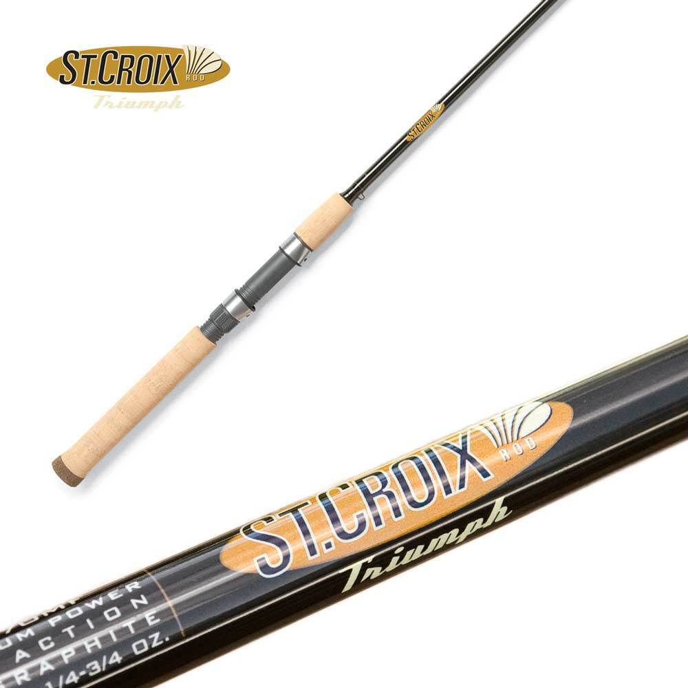 St Croix Triumph Salmon Steelhead Spinning Rod TRS86MHF2 8'6  Medium Heavy 2pc