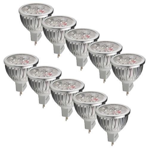 4x High Power MR16 6W =50watt LED Bulbs Spotlight Energy Saving Light Day White