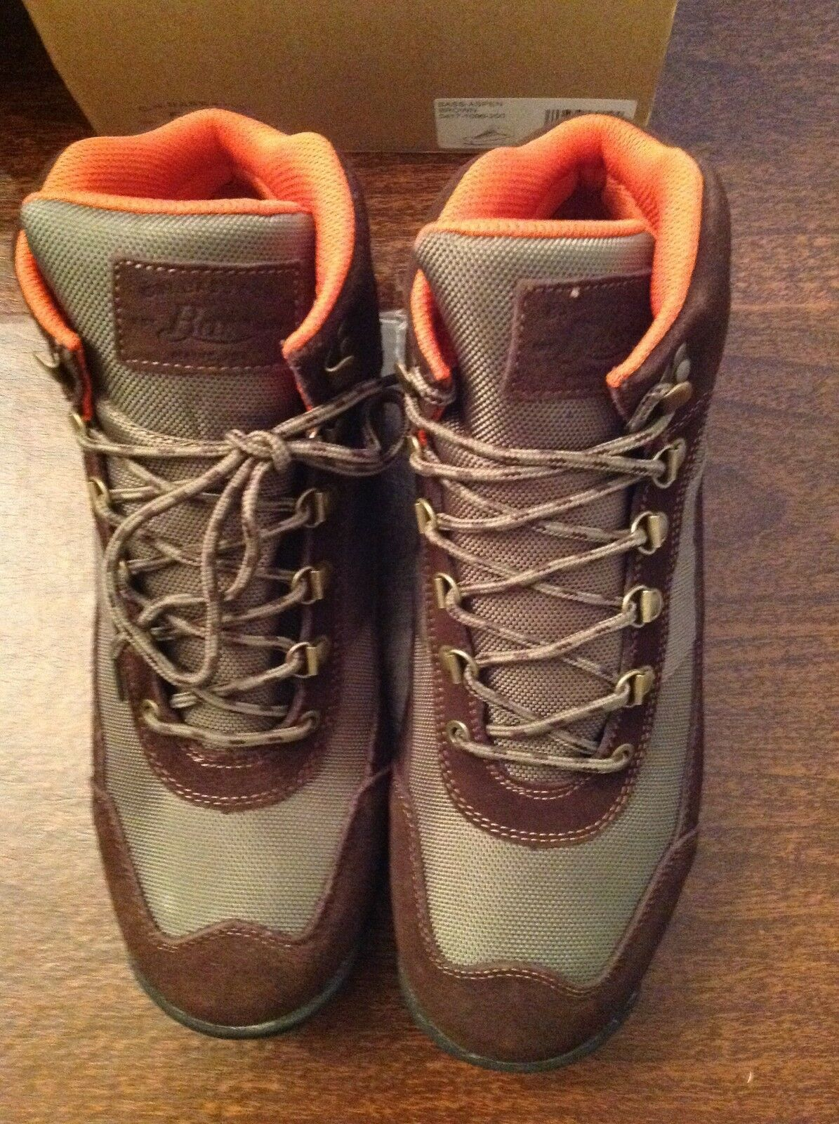 G. H. Bass Men's Brown Aspen Hikers Boots  Size: 11.5M   New in Box