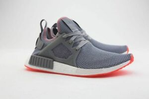 33205e59a BY9925  NEW MEN S ADIDAS ORIGINALS NMD XR1 GREY HEATHER SOLAR RED ...