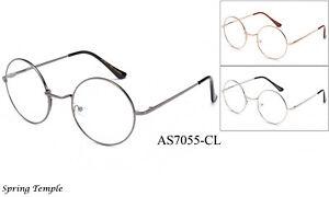 8add36d1754e Classic Clear Lens Glasse John Lennon Retro Round Eyewear Hippies ...