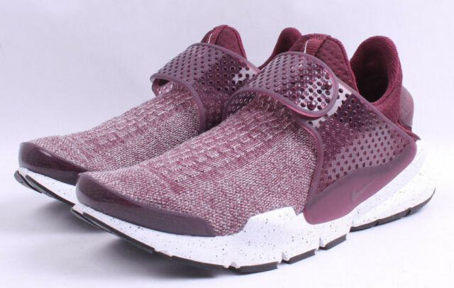 Nike Sock Dart SE Premium Sz 12 Night Maroon SNEAKERS 859553 600
