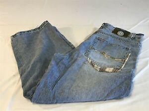 Coleccion Southpole Autentico Para Hombre De Cuadros En Azul Denim Jeans Bolsillo Tamano 36 Ebay