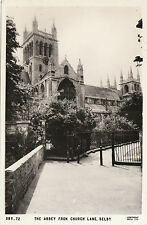The Abbey From Church Lane, SELBY, Yorkshire RP