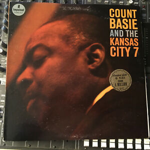 COUNT-BASIE-and-the-Kansas-City-7-IMPULSE-Stereo-A15-VAN-GELDER-JAZZ-Lp-Record