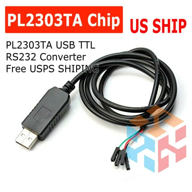 PL2303HX USB to TTL RS232 COM UART Module Serial Cable Adapter for Arduino In G3