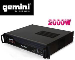 Gemini-XGA-2000-Professional-Lightweight-2000W-PA-Power-Amplifier-19-034-Rack-Amp