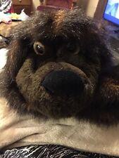 """Senitt Bear Backpack Shoulder Bag Furry Plush Soft Toy Stuffed Animal 16"""""""