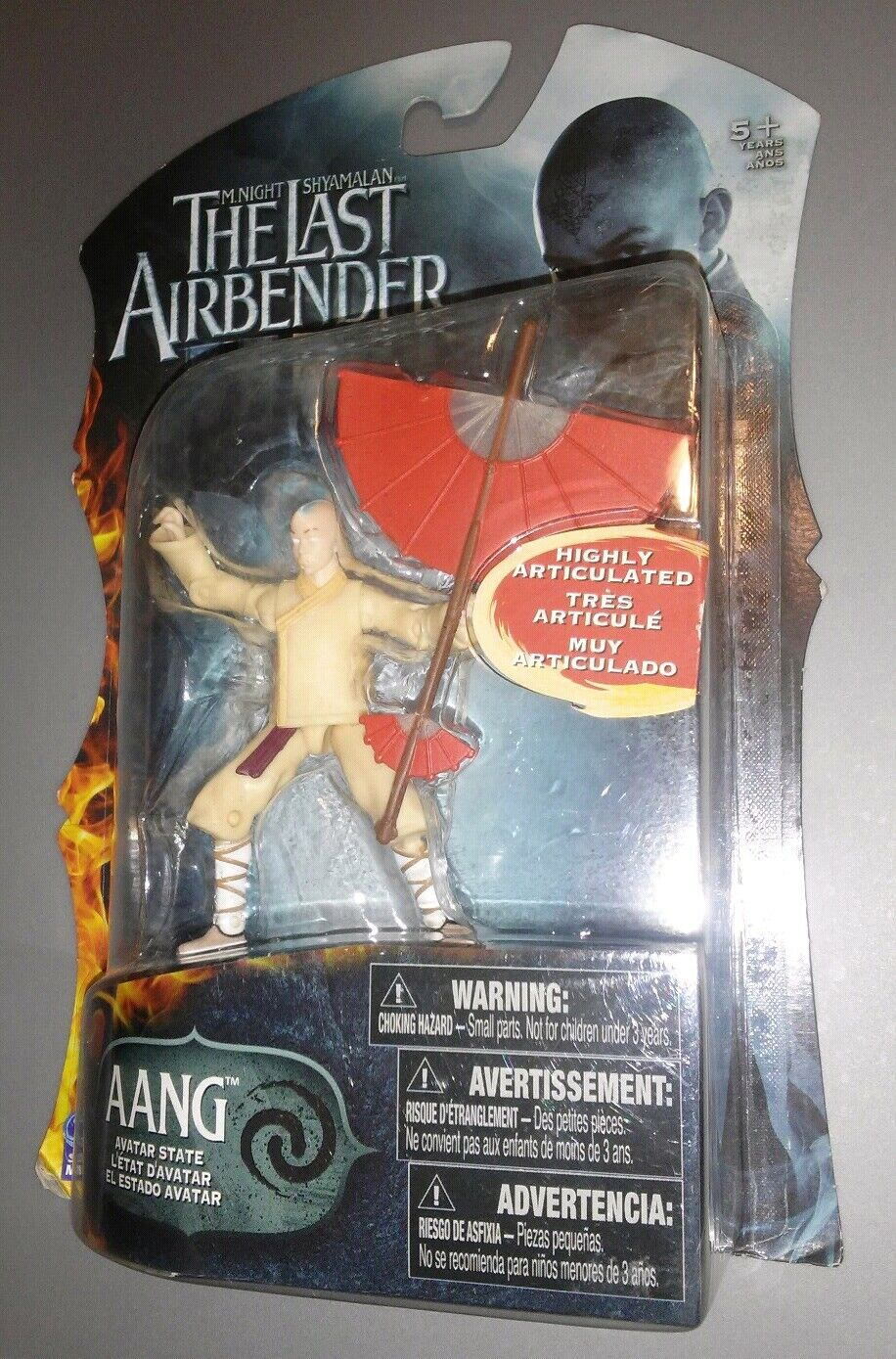 Avatar the Last Airbender Aang Action Figure Figure Figure [Avatar State] 5415bb