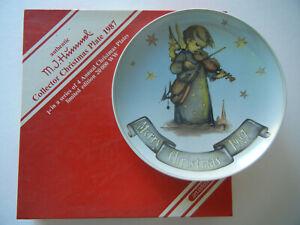 Goebel-Christmas-Plate-Christmas-Plate-1987-No-08-579-With-Original-Package