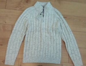 Marks S standard Collezione Taglia Winter New And Mens Jumper White Lunghezza Spencer COq5xTPw