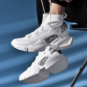 Men-039-s-High-Top-Shoes-Outdoor-Sports-Walking-Athletic-Sneakers-Jogging-Tennis-Gym