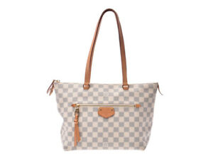 LOUIS-VUITTON-Iena-PM-Shoulder-Tote-Hand-Bag-N44039-Damier-Azul-Used