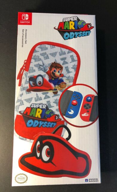 Offical Nintendo Switch Accessory Set [ Super Mario Odyssey Special Edition] NEW