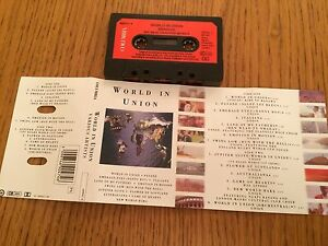 Various-Artists-World-In-Union-Cassette-1991