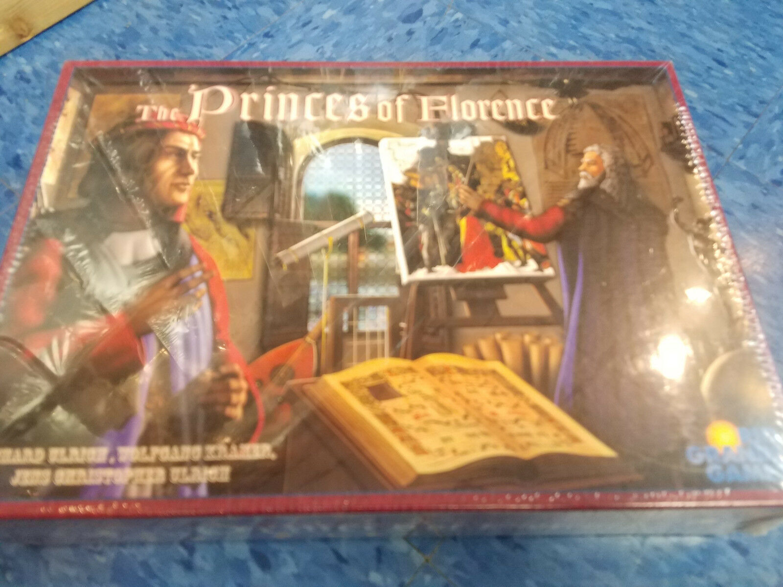 The Princes of Florence - - - Rio Grande Games Board Game New 2f1bd0